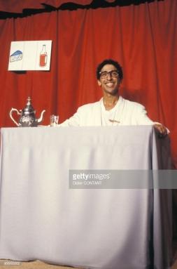 Smaïn au café-théâtre en 1986