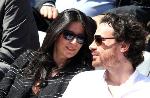 Marie-Drucker-et-son-compagnon-Mathias-Vicherat-dans-les-tribunes-de-Roland-Garros-a-Paris-30-mai-2015_width1024