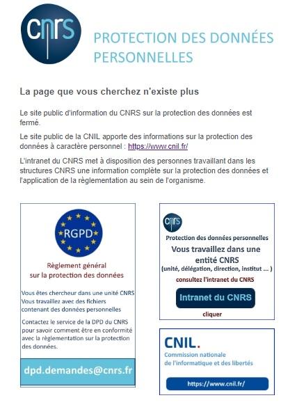 CNRS_DonneesPersonnelles