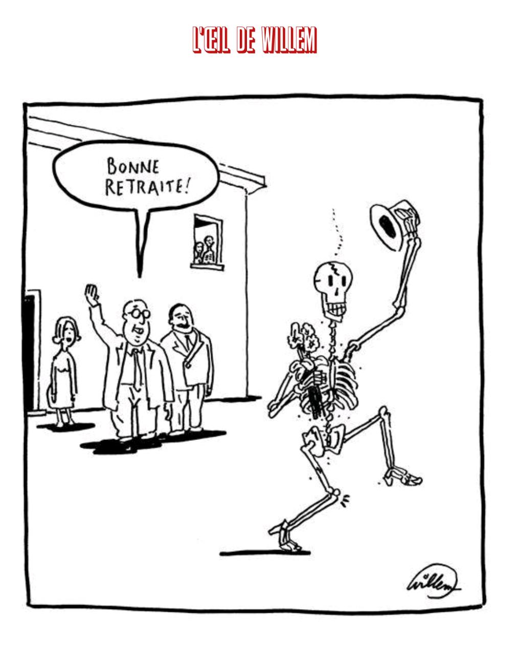Caricature Libération 20 novembre 2019