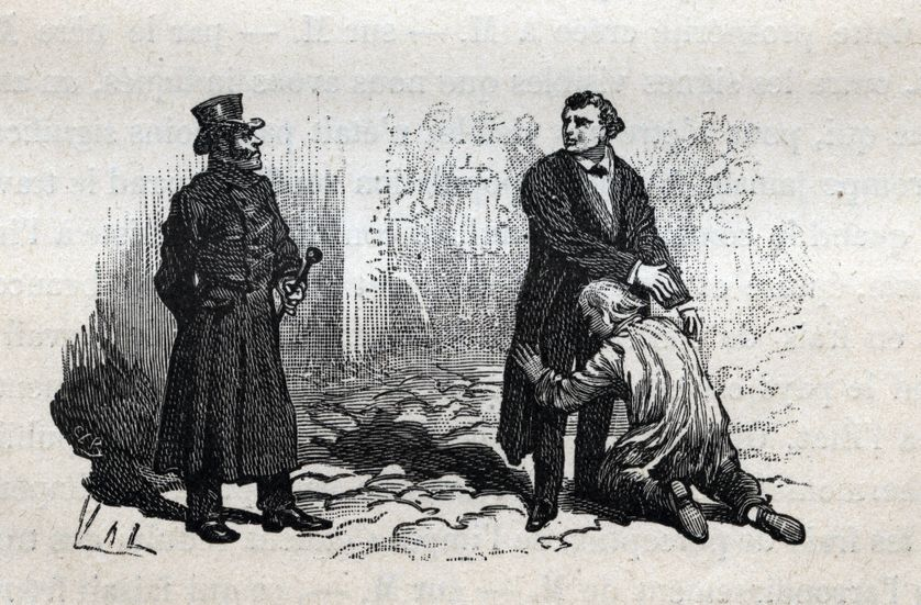 Misérables Javert Valjean
